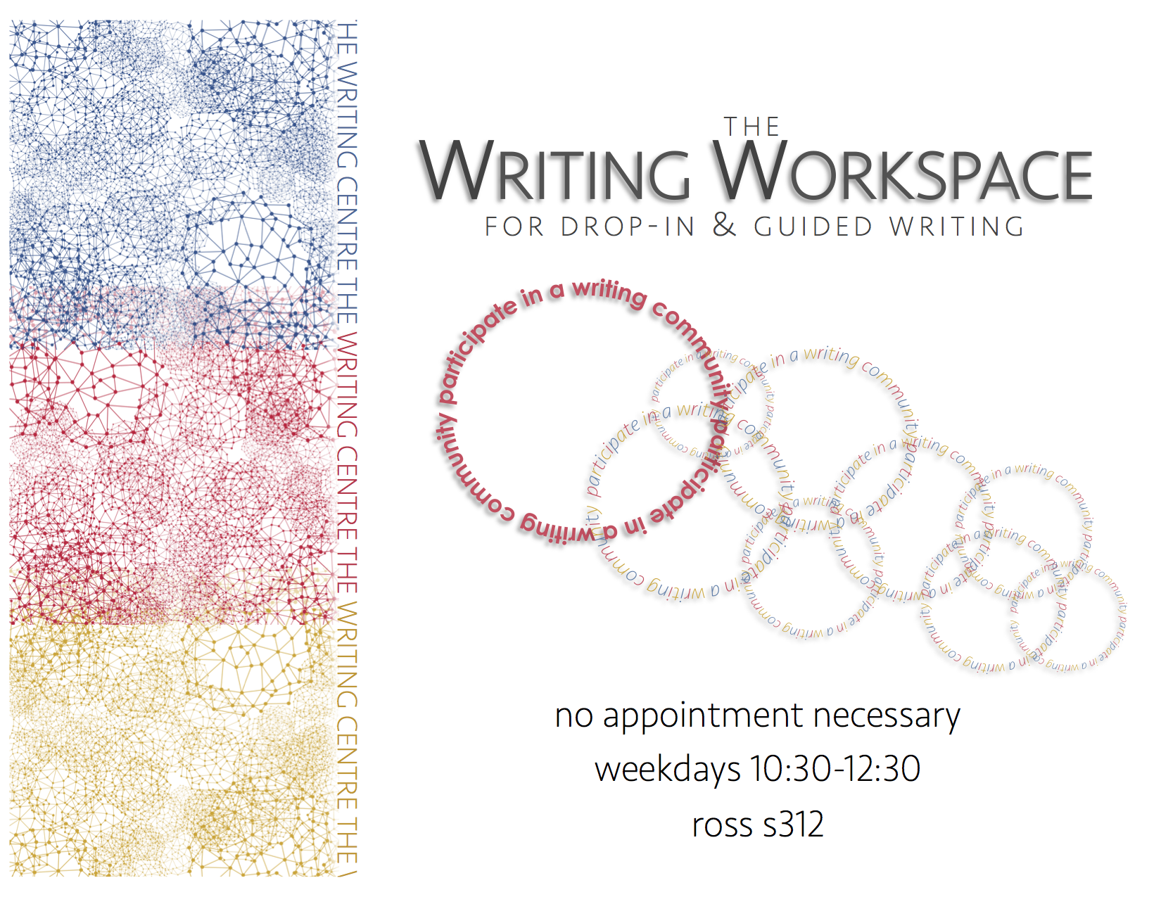 The Writing Workspace for drop-in and guided writing